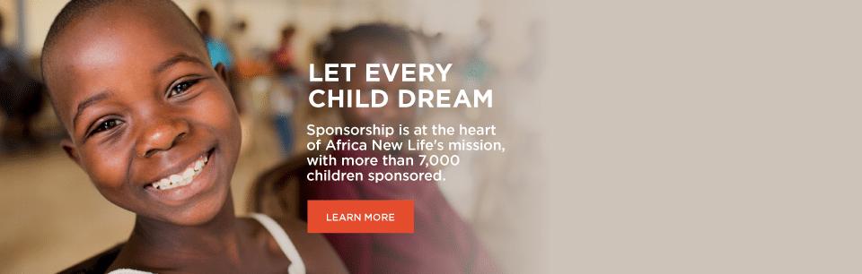 Africa New Life - Sponsorship