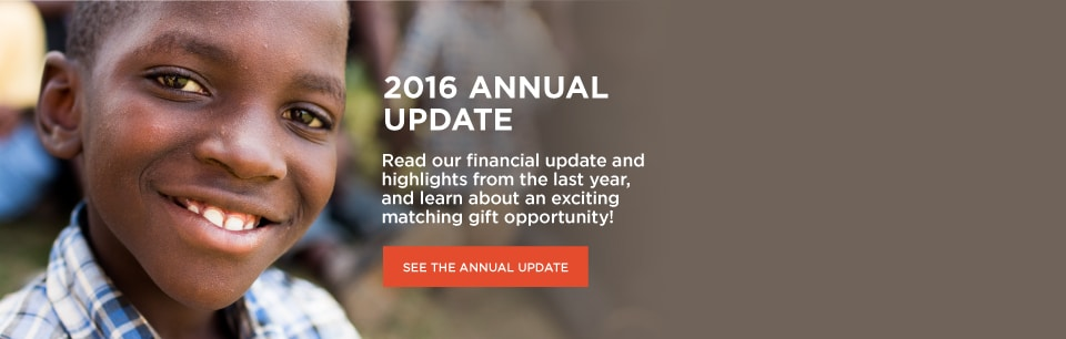 Africa New Life - 2016 Annual Update