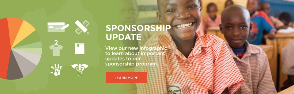 Africa New Life - Sponsorship Update