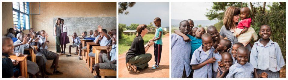 Ann Voskamp in Rwanda with Africa New Life Ministries