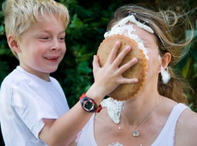 Pie Throwing