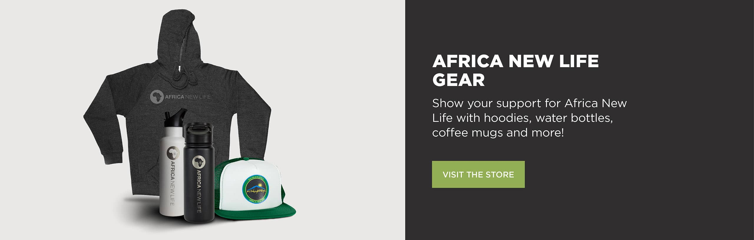 Africa New Life Gear - Wear your support