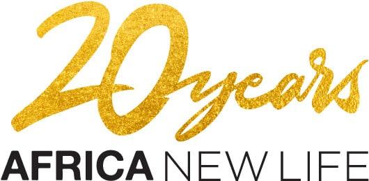 20 Years Africa New Life logo